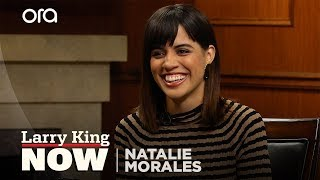 Why Natalie Morales decided it was important to come out as queer | Larry King Now | Ora.TV