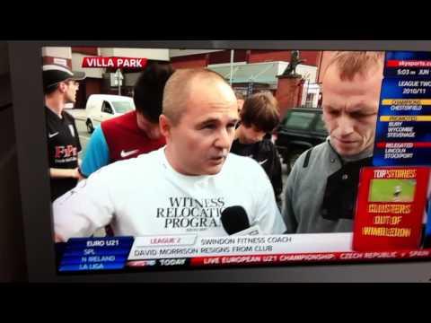 Villa Fans - Alex McLeish 'protest'....