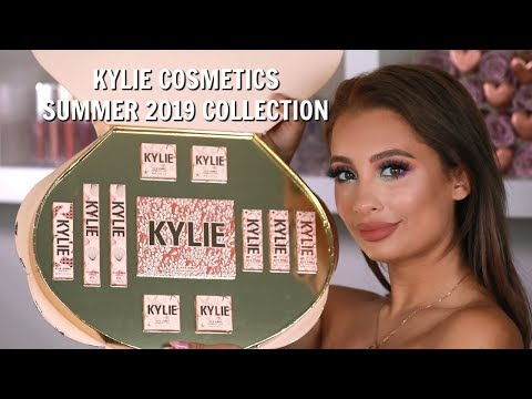 Kylie Cosmetics Summer 2019 Collection First Impressions