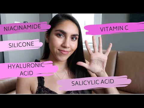 5 FAMOUS SKINCARE INGREDIENTS EXPLAINED: Niacinamide, Silicone, Vitamin C + MORE | KAYA EMPIRE