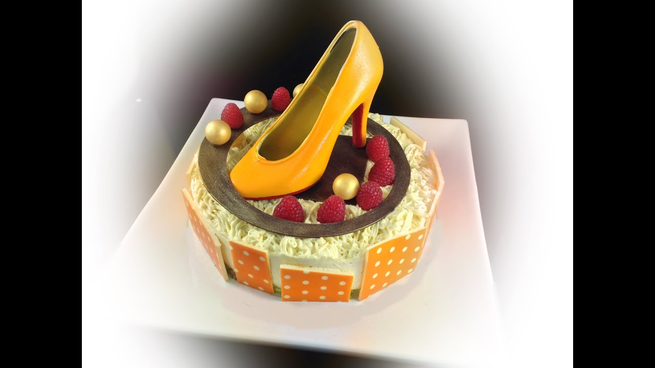 Christian Louboutin High Heels shoe Birthday Cake By Art Of Cooking
