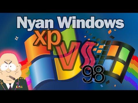 Nyan Windows 98 VS XP