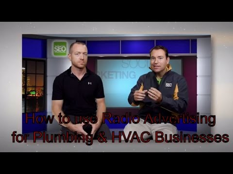 How to use RADIO to market your Plumbing or HVAC Business