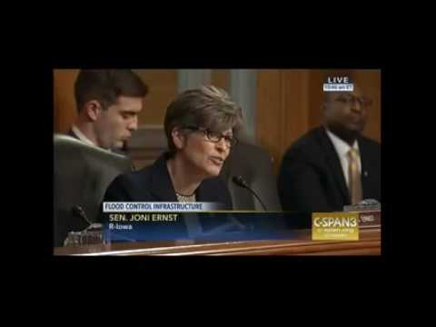 Senator Ernst introduces Cedar Rapids Mayor at Senate EPW Hearing