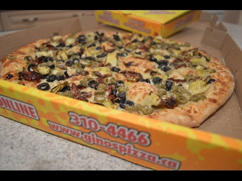 Gino's Pizza – White Pizza with Artichoke Hearts