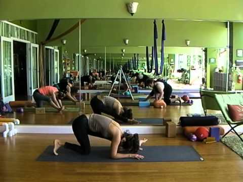 Emily Sabo's 7-12-2014 Yoga Class, Indialantic, FL (core, hips, thighs, psoas, back and shoulders)