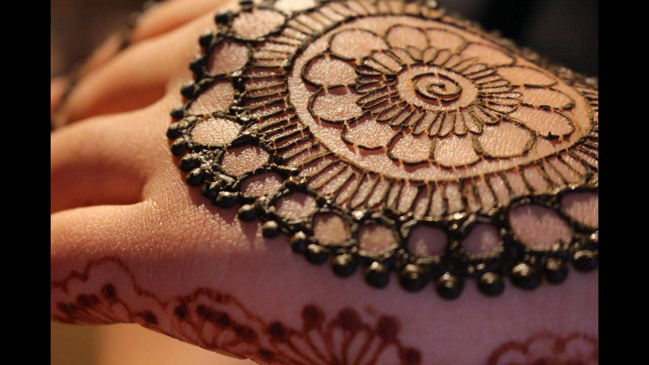 Mandala Henna Designs: Flower Mandala Mehndi Design