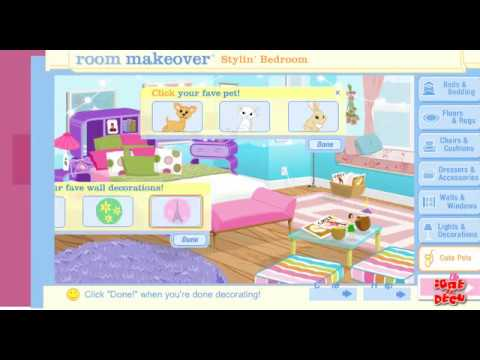 My scene bedroom makeover for My room decoration games