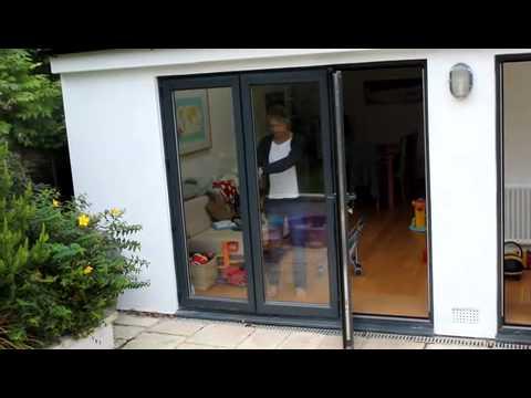 Visofold 3000 Aluminium BiFolding Panorama Doors   Legacy Windows Ltd  (Bristol)