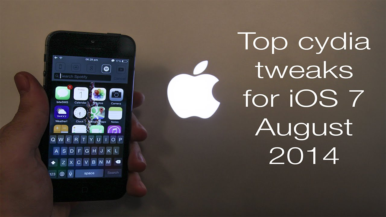 Best Cydia Tweaks For Ios 7 And Iphone 5s 5 August 2014 Youtube
