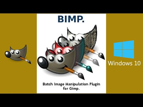 GIMP TUTORIAL: BATCH EDIT YOUR PHOTOS USING BIMP PLUG IN
