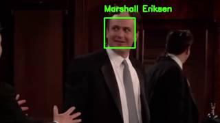 Facial Recognition HIMYM characters