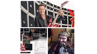 Talking Guitars NEW EVH Musician's Friend Contest! #evhgear #fender LIVE 11/20/17