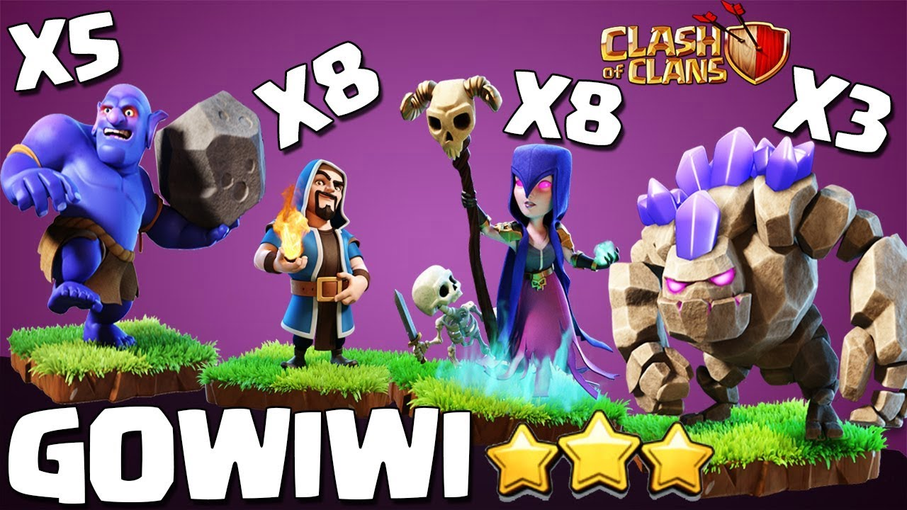 Download GoWiWi - GoBoWi - Stoned TH9 Attack Guide | The Perfect War | TH9 STRONG WAR ATTACK STRATEGY COC