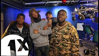 Scrufizzer, Coco & Maxsta in Studio 82 with Jeremiah Asiamah