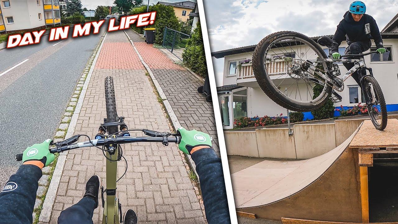 DAY IN MY LIFE 3! Urban MTB, Skatepark, Dirt Jump
