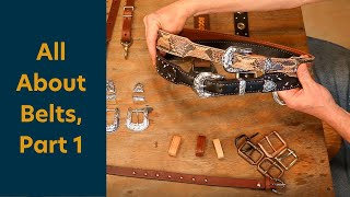 The Leather Element: AĮl About Belts Part 1