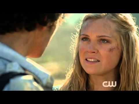 The 100 - Clarke kiss Bellamy ''May we meet again'' (2x16)