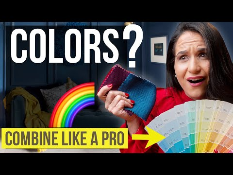 INTERIOR DESIGN COLOR COMBINATION | Home Decor Tips & Ideas On How To Combine Colors