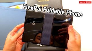 Official version Royole FlexPai Foldable Phone Unboxing - English