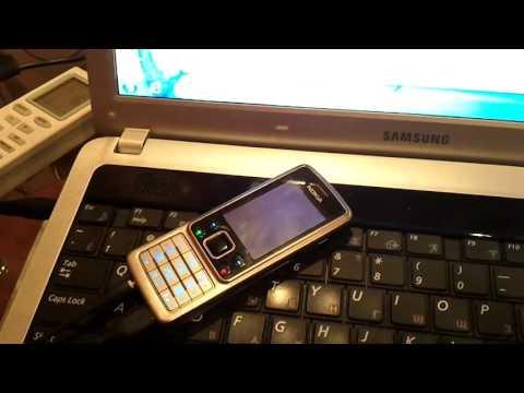 Прошивка телефона Nokia 6300