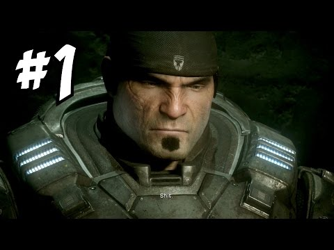 Gears Of War Ultimate Edition 1 Marcus Fenix Is A Badass Campaign Let S Play Walkthrough