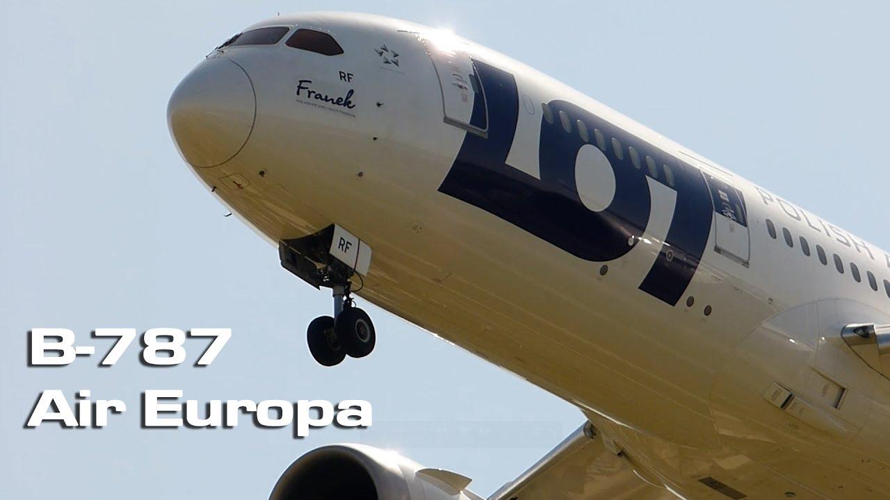 Boeing 787 dreamliner air europa youtube for Interior 787 air europa