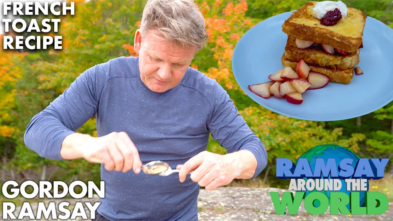 Download Gordon Ramsay Cooks the Perfect Apple French Toast in Michigan