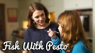 Pesto Crust Cod - Crumbs