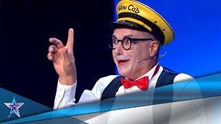 AGÁRRATE, ¡vienen curvas con este GRACIOSO MIMO! | Audiciones 6 | Got Talent España 5 (2019)