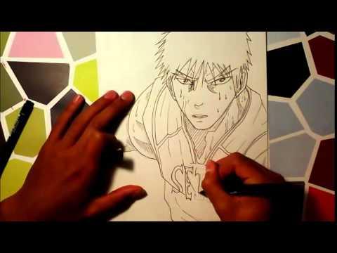 How To Draw Kagami Taiga / Comment Dessiner Kagami Taiga