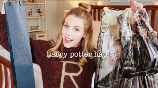 wizarding world of harry potter haul | 2018