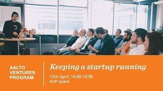 Banking (Holvi) / Keeping a startup running 13 04 2016
