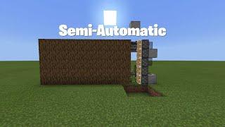Simple Semi Automatic Tree Farm! - 1.16 Nether Update - (Minecraft Bedrock Edition)