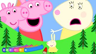 Peppa Pig Channel | Giant Peppa Pig at the Tiny Land