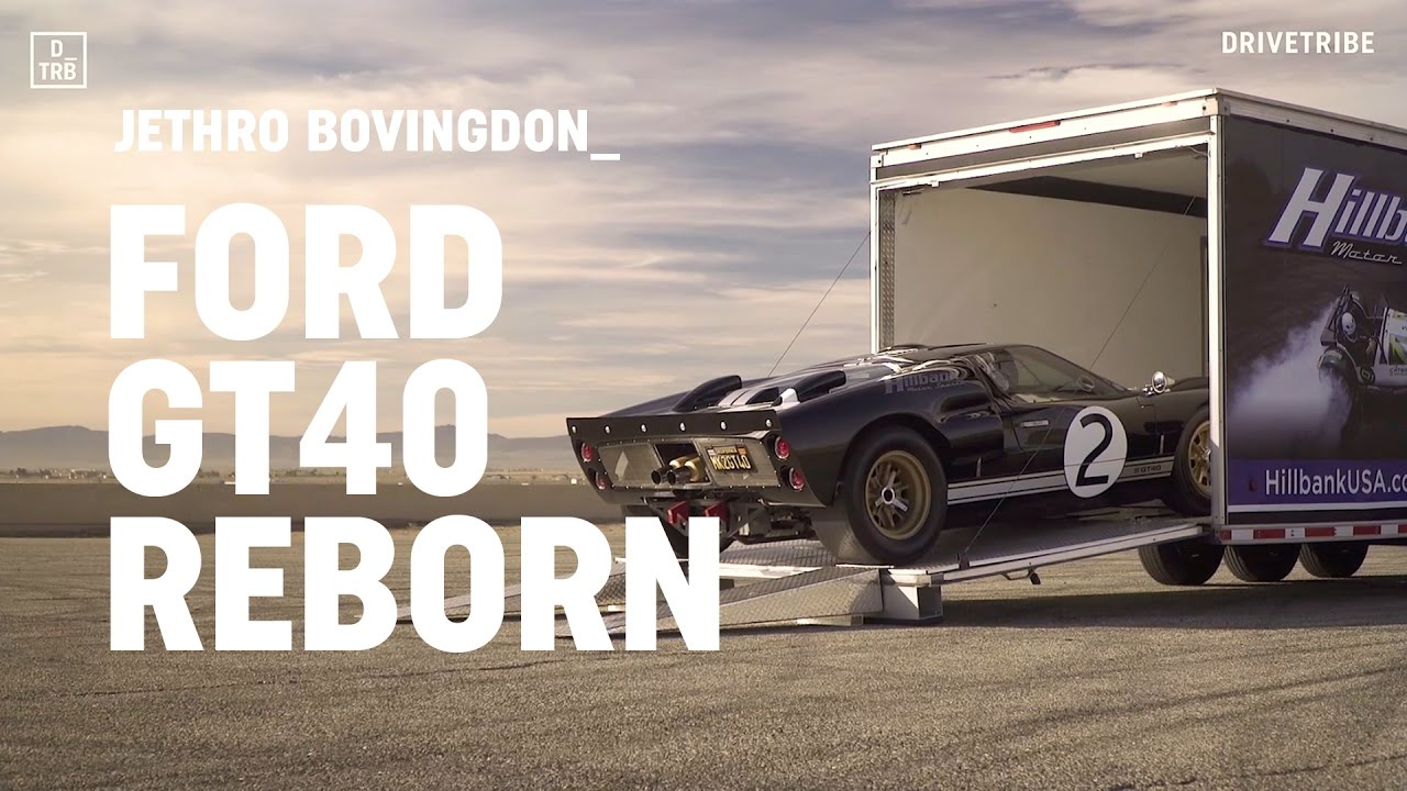 Ford Gt Reborn Driving The Superformance Mkii Gt