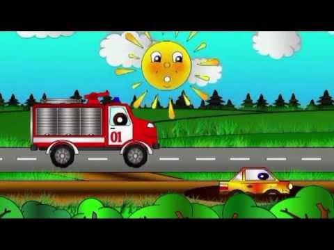 Мамино солнышко   Сказка про пожарную машину