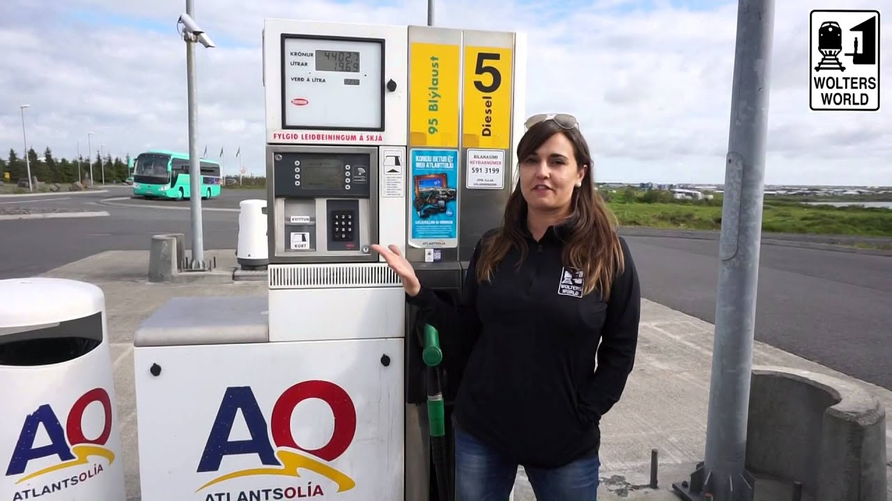Diesel Gas Near Me >> People Less Gas Stations In Iceland Driving Iceland