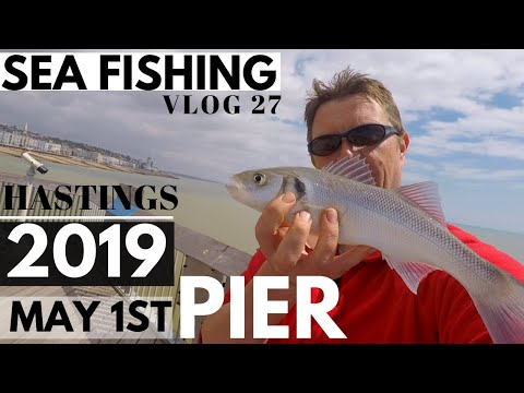 Sea Fishing Vlog The Pier May 2019