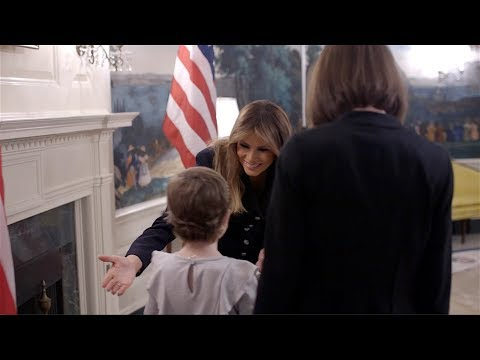 First Lady Melania Trump Welcomes the 2019 State of The Union Guests Mp3