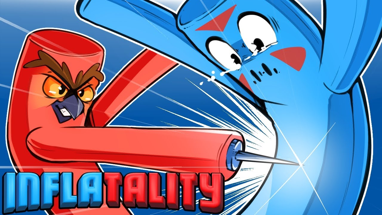 Inflatality – VANOSSGAMING WANTS SOME INFLATABLE FIGHTING ACTION!!!