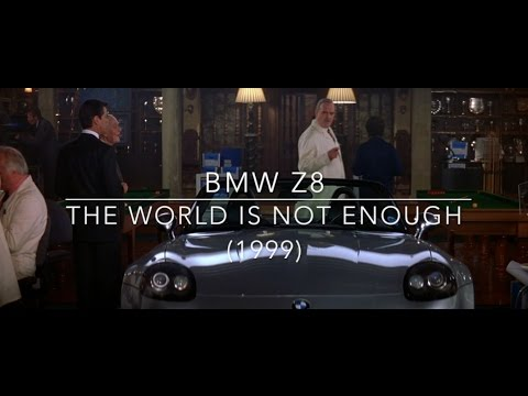 Bmw Z8 From The World Is Not Enough 1999 Youtube