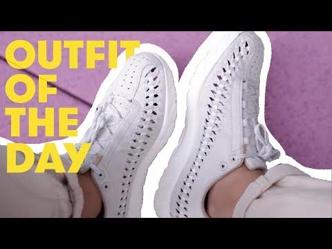 Total Look #1 BEIGE // Nike Mayfly Woven