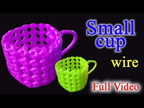 Small cup in wire - Full Video