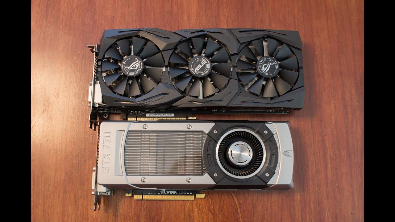 Upgrading GTX 770 to GTX 1080 Strix