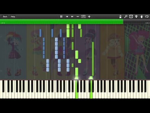 Friendship Through the Ages [Piano] (My Little Pony) - Synthesia