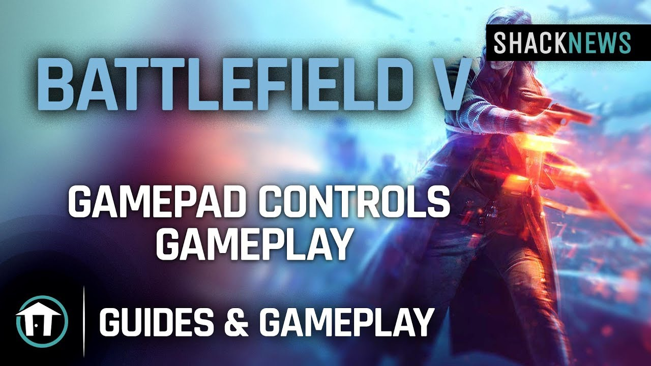 Battlefield 5 PlayStation 4 controls and button mapping
