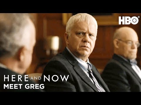 Meet Greg Tim Robbins  Here And Now  HBO