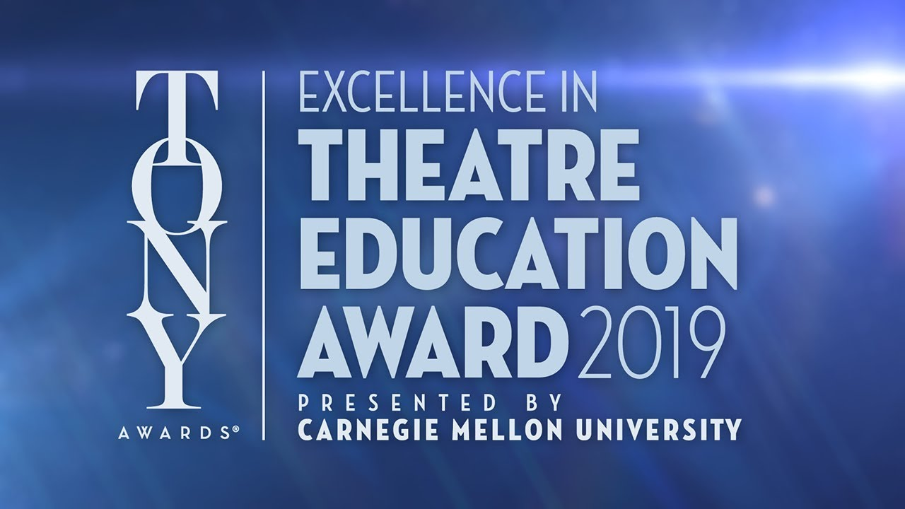 Submit A Teacher for the 2019 Excellence in Theatre Education Award