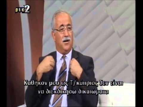 Izzet Izcan talks about Turkey and Cyprus EEZ